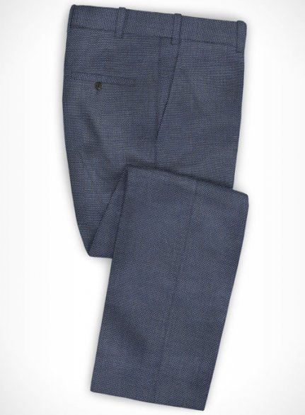 Cotton Sele Blue Pants