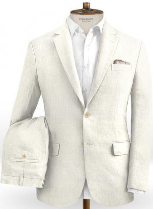 Safari Natural Cotton Linen Suit