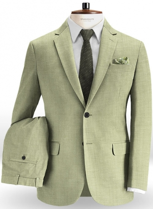 Italian Cotton Linen Infor Suit