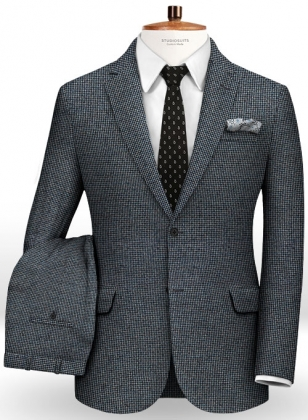 Italian Wool Silk Tambo Suit