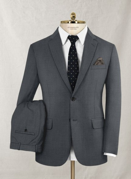 Zegna Trofeo Letrio Gray Wool Silk Suit