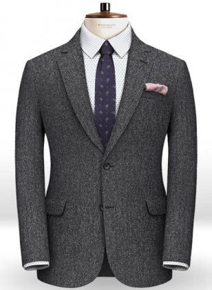 Italian Tweed Aero Jacket