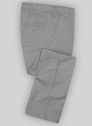 Washed Twillino Oxford Gray Chinos