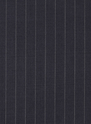 Chalkstripe Wool Dark Blue Suit