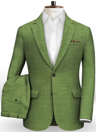 Mystic Green Wool Suit