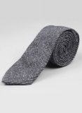Tweed Tie - Slubby Blue