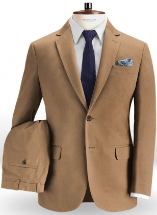 Summer Weight Irish Brown Chino Suit