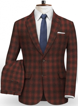 Cashmere Flannel Wynt Wool Suit