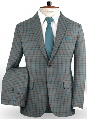 Napolean Rollz Green Wool Suit
