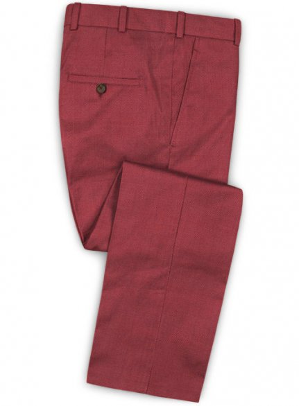 Napolean Rosewood Wool Pants - Pre Set Sizes - Quick Order
