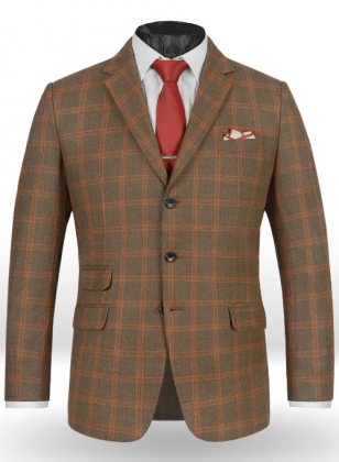 Light Weight Dingle Brown Tweed Jacket