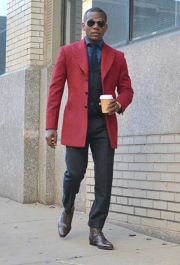 Red Tweed OverCoat