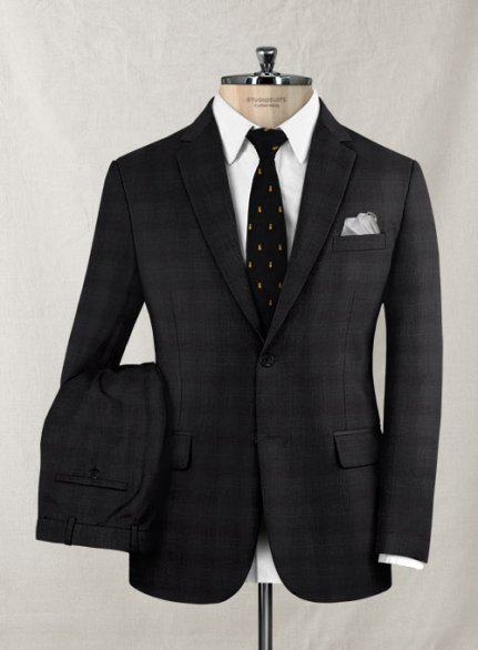 Zegna Onceto Gray Brown Wool Suit