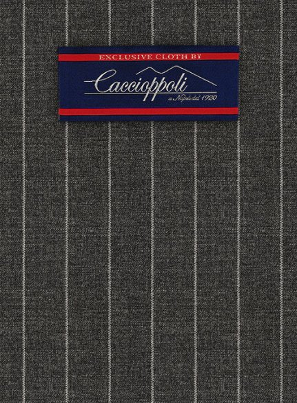 Caccioppoli Fresco Wool Gray Ninso Suit