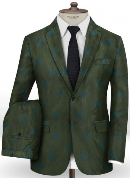 Eagle Green Wool Suit