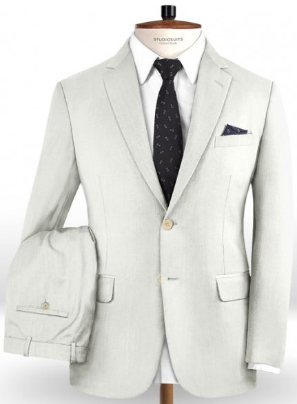 Reda Ivory Pure Wool Suit