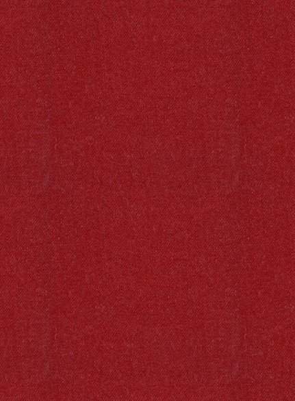 Italian Wool Cashmere Ruby Red Suit