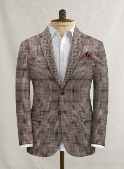 Tadeo Checks Tweed Jacket