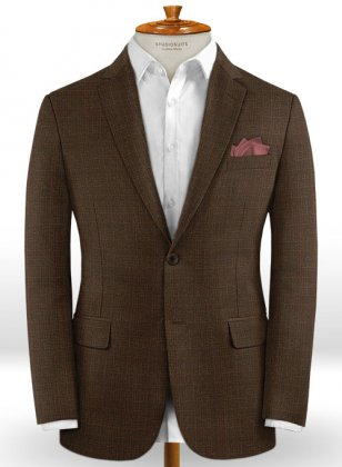 Caccioppoli Dapper Dandy Sortez Dark Brown Jacket
