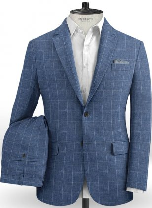 Solbiati Linen Wool Silk Lighto Suit