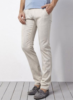 Pure Irish Linen Pants