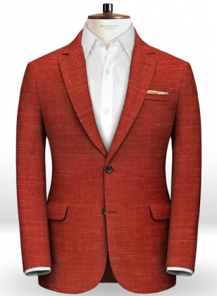 Mystic Red Wool Jacket