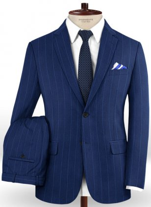 Caccioppoli Dapper Dandy Havssi Blue Suit