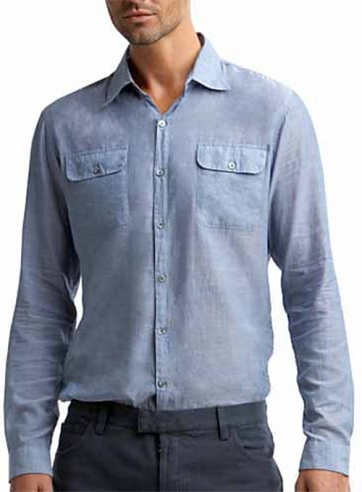 Modern Flap Pocket Shirt