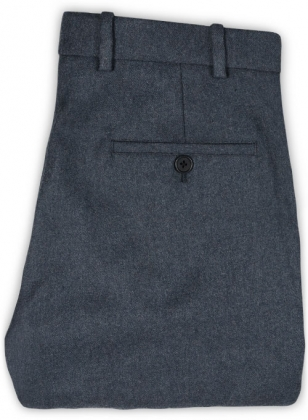 Light Weight Bond Blue Tweed Pants - 32R