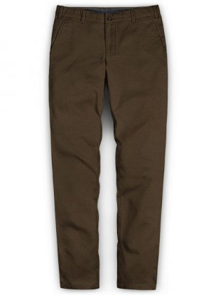 Washed Forest Brown Chinos