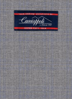 Caccioppoli Sun Dream Cecini Gray Suit