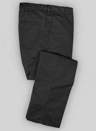 Washed Heavy Gray Chinos