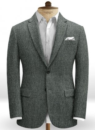 Italian Tweed Aiace Jacket