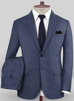 Caccioppoli Sun Dream Poreli Blue Suit