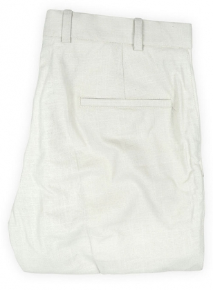 Tropical Natural Linen Pants - 32R