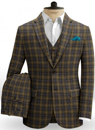 Pitten Checks Tweed Suit