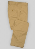 Summer Weight Khaki Tailored Chinos