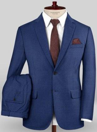 Caccioppoli Sun Dream Diano Royal Blue Suit