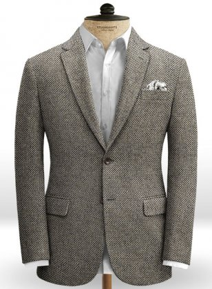 Italian Tweed Fucile Jacket