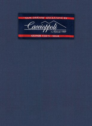 Caccioppoli Sun Dream Ink Blue Suit