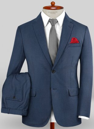 Caccioppoli Sun Dream Amango Flat Blue Suit