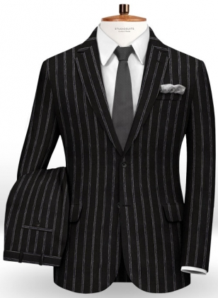 Willow Stripes Wool Suit