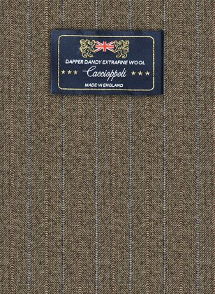 Caccioppoli Dapper Dandy Tafa Brown Suit