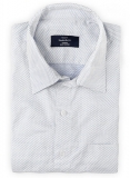 Giza Kito White Cotton Shirt - Full Sleeves