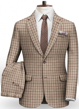 Italian Wool Cotton Iglo Suit