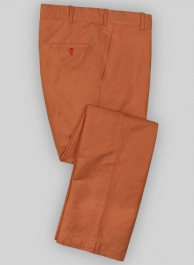 Washed Tango Safari Cotton Linen Pants