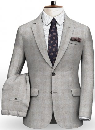 Cashmere Flannel Fero Wool Suit