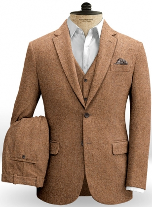 Spring Rust Tweed Suit