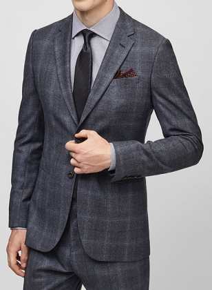 Cashmere Wool Flannel Jacket