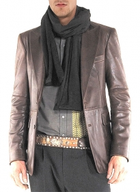 Catwalk Leather Blazer # 2